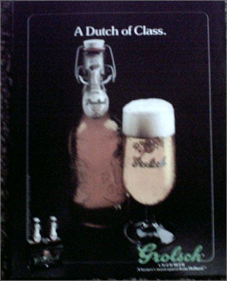 1983 Grolsch Beer ad