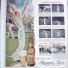 1949 Hamms Beer ad featuring Johnny Faunce