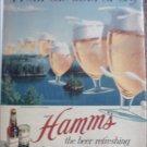 1953 Hamms Beer ad