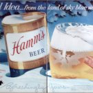 1956 Hamms Beer ad