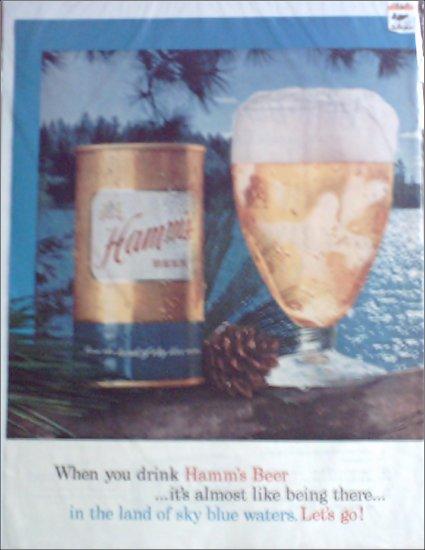 1960 Hamms Beer ad #2
