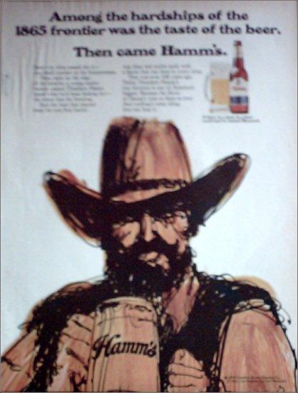 1970 Hamms Beer ad #1