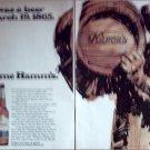 1970 Hamms Beer ad #3