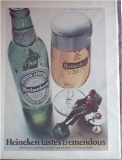 1972 Heineken Beer ad