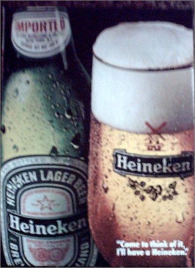 1981 Heineken Beer ad