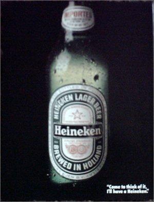 1982 Heineken Beer ad