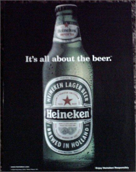 1999 Heineken Beer ad