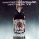 1980 Hofbrau Beer ad