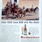 1944 Budweiser Beer ad