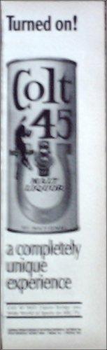 Colt 45 Malt Liquor ad