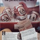 1985 L A Beer ad
