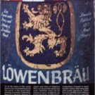1985 Lowenbrau Beer ad