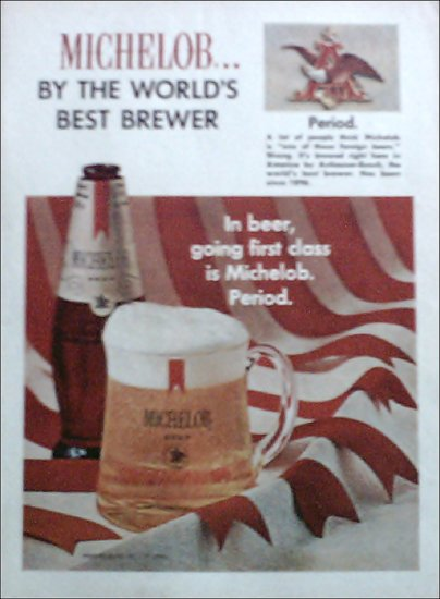 Michelob Beer ad #1