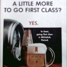 Michelob Beer First Class ad