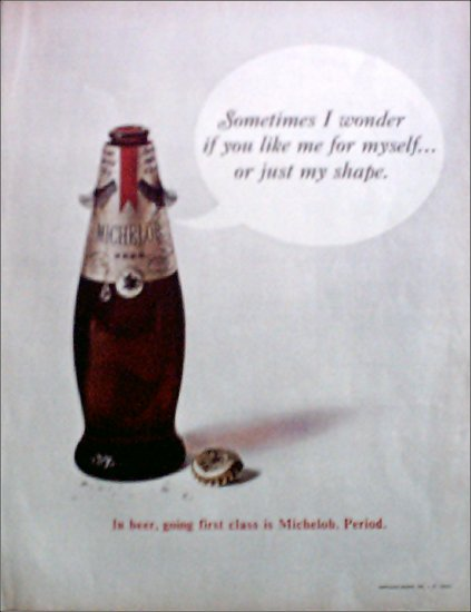 1968 Michelob Beer ad
