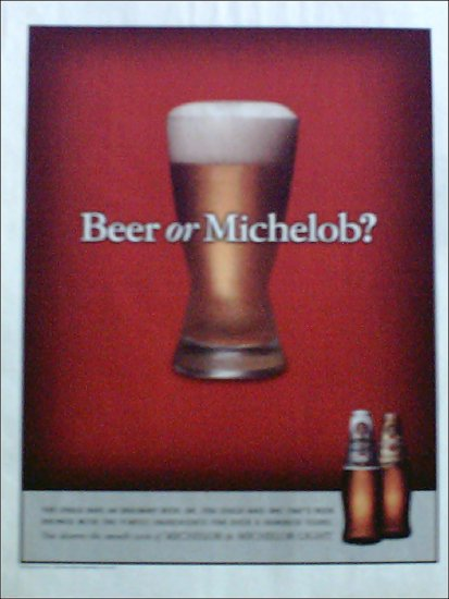 1998 Michelob Beer ad