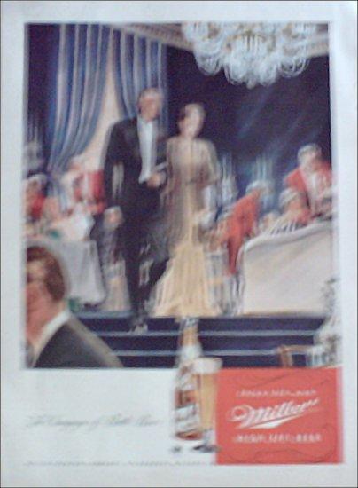 1946 Miller Beer ad