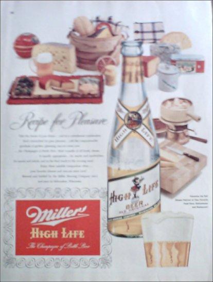 1952 Miller Beer ad #1