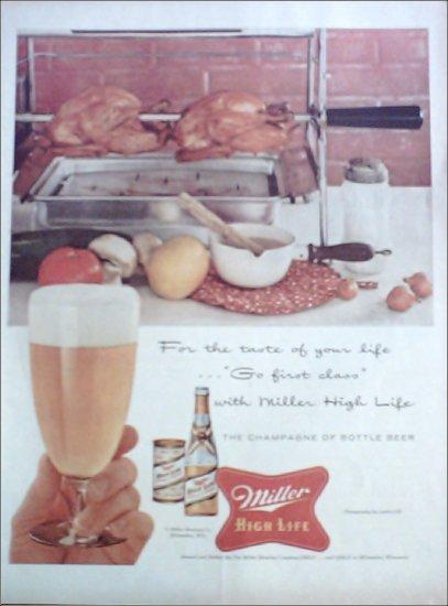 1956 Miller Beer ad #1