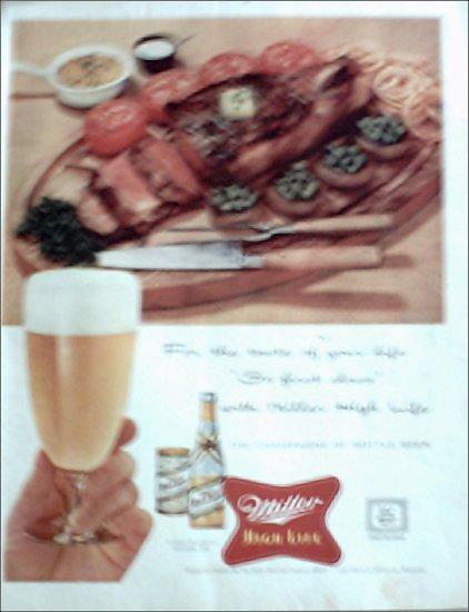 1956 Miller Beer ad #2
