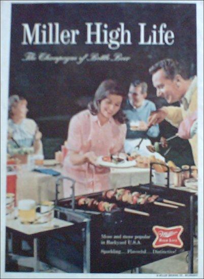 1967 Miller Beer Picnic ad