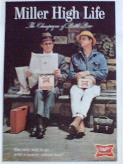 1967 Miller Beer ad #2