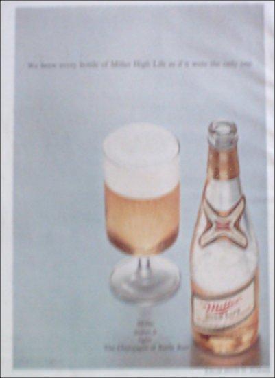 1969 Miller Beer ad #1