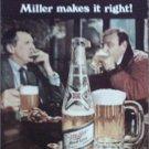 1969 Miller Beer ad #2