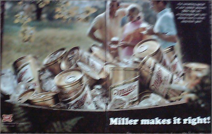 1969 Miller Beer ad #3