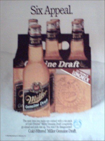 1989 Miller Beer ad