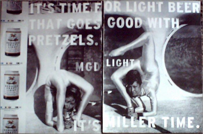 1998 Miller Genuine Draft Light Beer ad