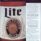 1985 Miller Lite Beer ad