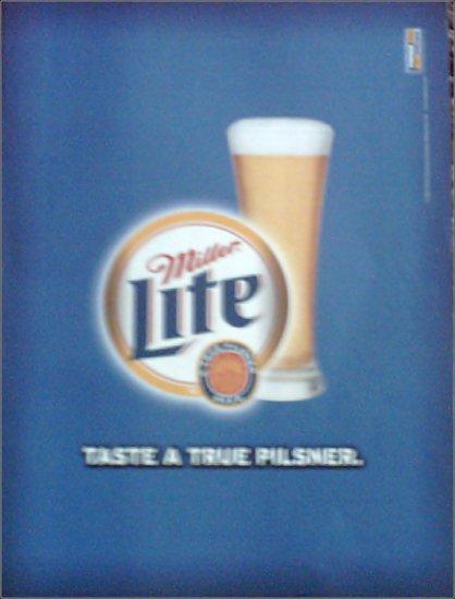 1999 Miller Lite Beer ad