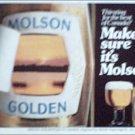 1980 Molson Golden Beer ad #2