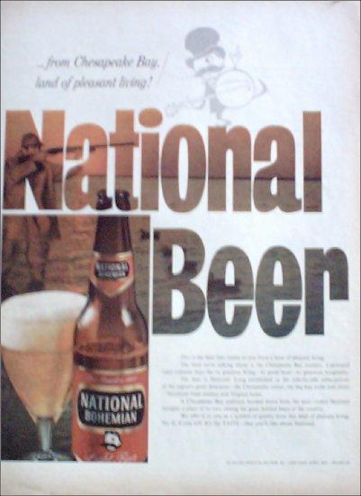 1958 National Bohemian Beer ad