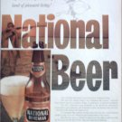 1958 National Bohemian Beer ad