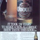 1989 Odouls Beer ad