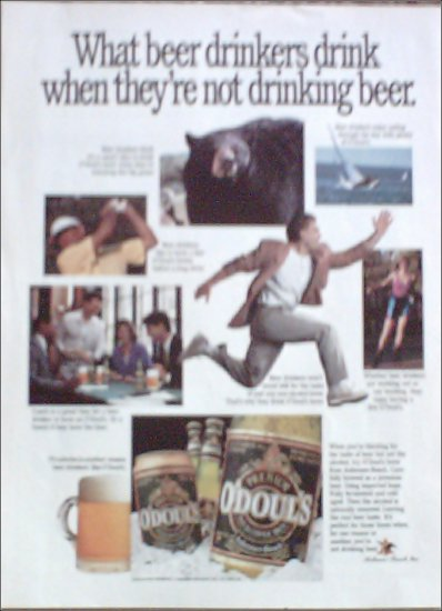 1991 Odouls Beer ad #2