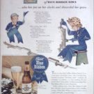 1943 Pabst Blue Ribbon Beer ad #1