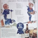 1943 Pabst Blue Ribbon Beer ad #2
