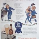 1943 Pabst Blue Ribbon Beer ad #4