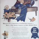 1944 Pabst Blue Ribbon Beer ad