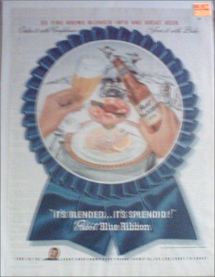 1946 Pabst Blue Ribbon Beer ad #5
