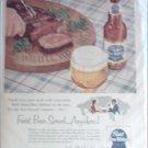 1954 Pabst Blue Ribbon Beer ad #2