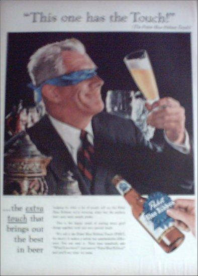 Pabst Blue Ribbon Beer ad #2