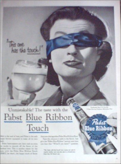 1956 Pabst Blue Ribbon Beer ad #4