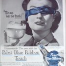 1956 Pabst Blue Ribbon Beer ad #4