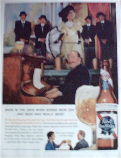 1960 Pabst Blue Ribbon Beer ad #5