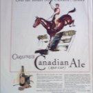 1934 Red Cap Ale ad
