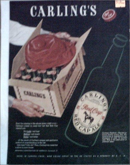 1947 Red Cap Ale ad #1